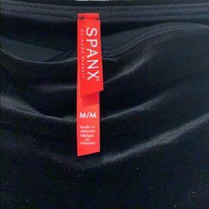 SPANX Pants - Spanx Black Velvet Leggings